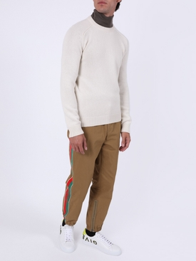 Cashmere Crewneck Sweater, Naturel