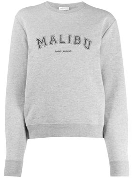 Saint Laurent - Malibu Sweater Grey - Women