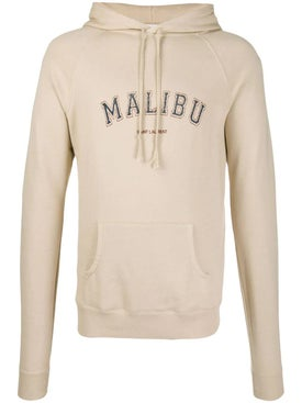 Saint Laurent - Neutral Malibu Hoodie - Hoodies