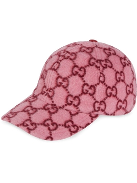 Gucci - Rose Pink Gg Baseball Cap - Women