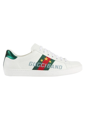 White Band Ace Sneakers