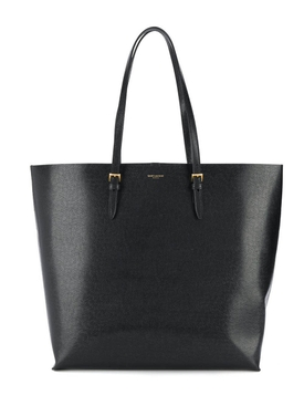 Saint Laurent - Black Tote Shoulder Bag - Women