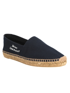 Navy Canvas Espadrille