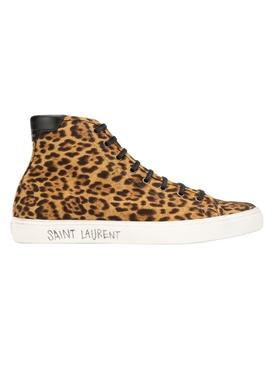 Leopard print Malibu sneakers