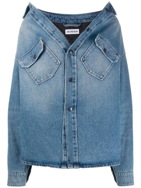 Denim swing Canadian shirt