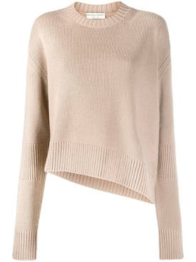 Bottega Veneta - Beige Slit Sweater - Women
