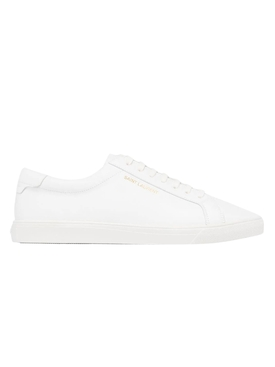 Optic White Leather Andy Sneakers