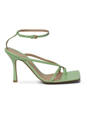 STRETCH SANDALS PISTACHIO