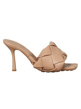 Bottega Veneta - Bv Lido Sandals Nude - Women