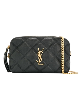 Becky quilted crossbody pouch NERO BLACK