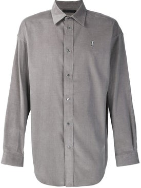 Alexanderwang - Dollar Sign Embroidered Shirt Grey - Men