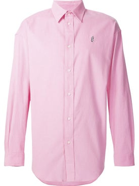 Alexanderwang - Dollar Sign Embroidered Shirt Pink - Men