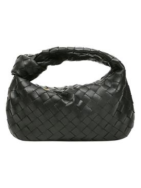 Jodie Intrecciato handbag BLACK-SILVER