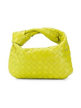 Jodie Intrecciato handbag KIWI-GOLD
