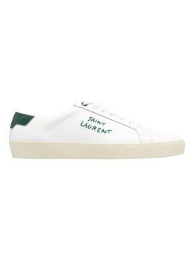 Court Classic SL/06 Sneaker, Blanc and Dark Basil