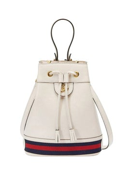 Gucci - Small Ophidia Bucket Bag White - Women