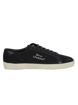 SL06 COURT CANVAS SIGNATURE SNEAKER