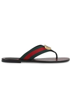 GG Sylvie Web Thong Sandals
