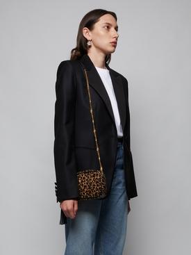 Leopard Print Mini Lou Bag
