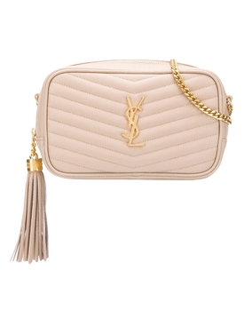 Lou YSL Mini Bag, Dark Beige