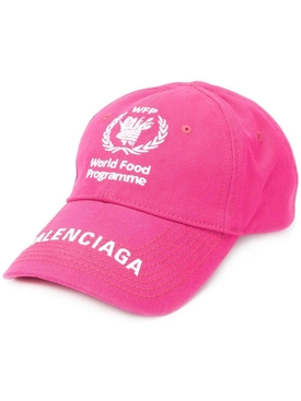 Balenciaga - X World Food Program Pink Cap - Women