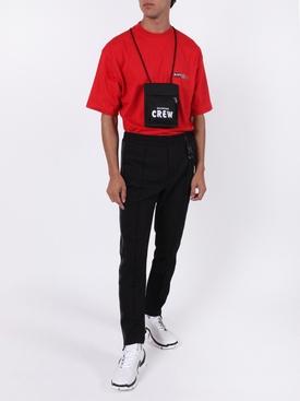 24 7 News logo t-shirt RED
