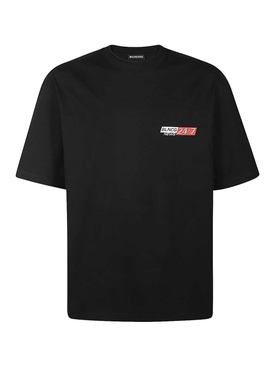 24/7 News logo t-shirt BLACK