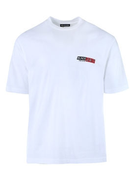24/7 News logo t-shirt WHITE