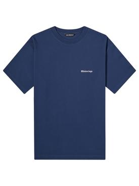 Medium Fit Cotton T-shirt NAUTICAL/WHITE