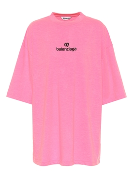 Medium Fit Logo T-shirt PINK