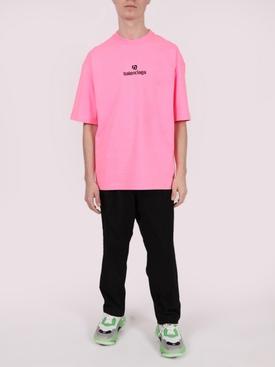 Medium Fit Logo T-shirt PINK