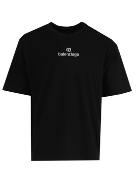 Medium Fit Logo T-shirt BLACK