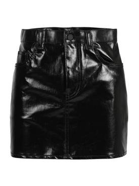 Black classic mini skirt