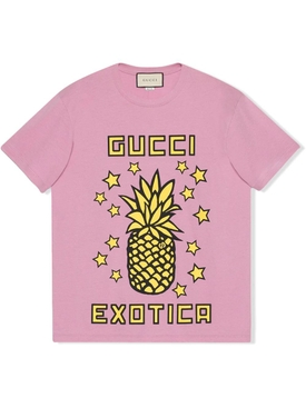 Gucci Exotica pineapple print t-shirt