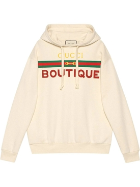 Ivory Boutique Logo Hoodie