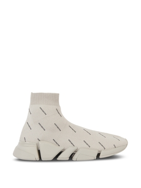 Speed 2.0 High-Top Sneaker Sand and Black