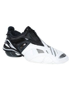 Two-tone Tyrex sneaker BLACK/WHITE