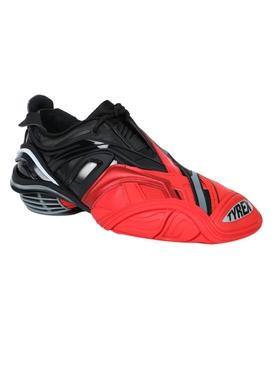 Two-tone Tyrex sneaker BLACK/RED