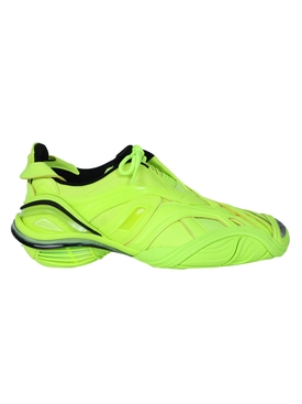 fluorescent yellow tyrex sneaker