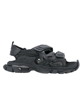 Paneled Track Sandal BLACK