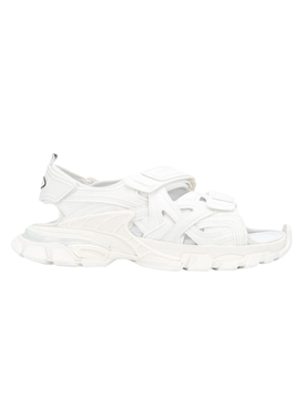 Paneled Track Sandal WHITE