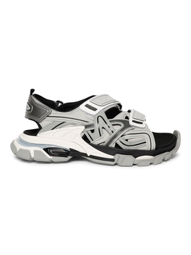 Track Sandals, Grey
