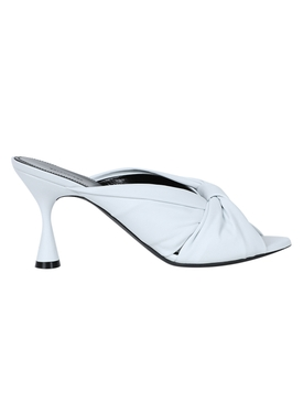 Drapy slip on sandal