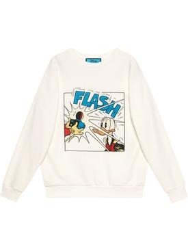 X Disney Donald Duck Sweatshirt, White
