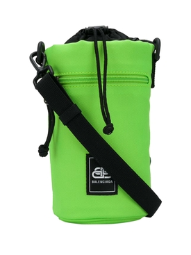 Fluorescent Green Water Bottle Holder