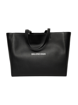 EVERYDAY EAST-WEST TOTE BAG, BLACK