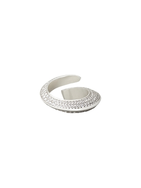 Curved Shimmering Ring