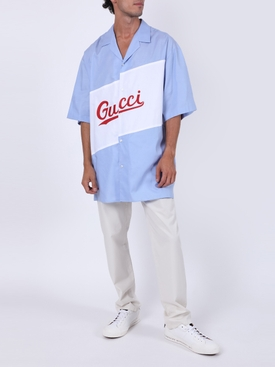 Sky Blue Bowling Shirt