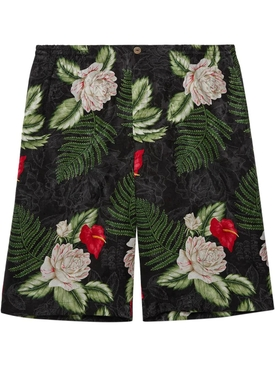 Hawaiian Dream On Jacquard Shorts