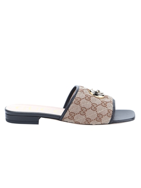 Gucci - Gg Matelassé Logo Sandals - Women
